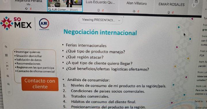 CAPACITA SECRETARÍA DEL CAMPO A PRODUCTORES MEXIQUENSES INTERESADOS EN EXPORTAR