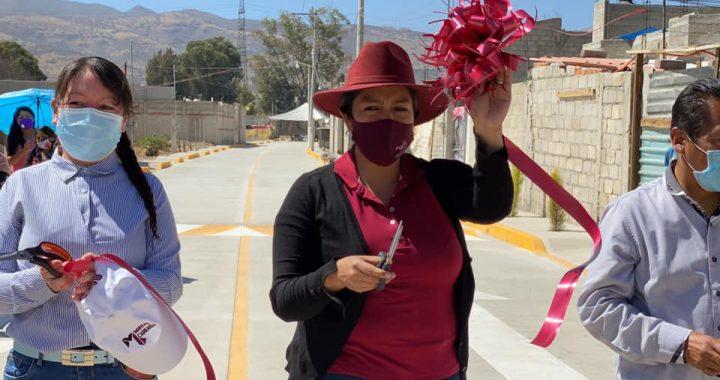 Teoloyucan sigue cumpliendo sus compromisos en obra pública