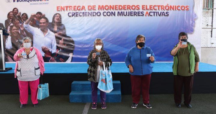 INICIA HUIXQUILUCAN LA ENTREGA DE 3 MIL 500 MONEDEROS ELECTRÓNICOS A MUJERES