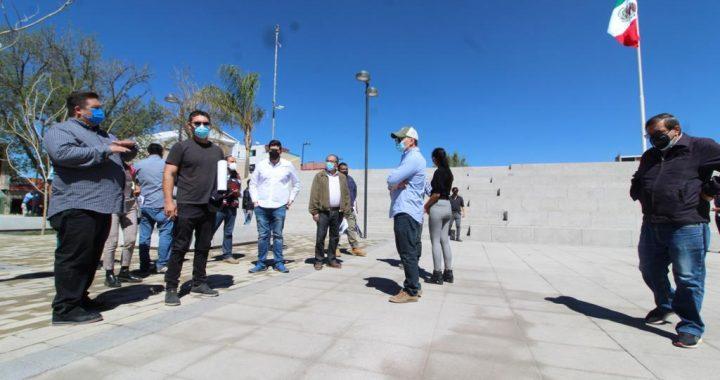 GOBIERNO MUNICIPAL Y FEDERAL TRABAJAN UNIDOS PARA ENTREGAR ESPACIOS PÚBLICOS DIGNOS A LOS CIUDADANOS