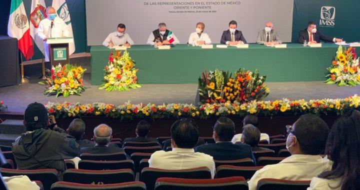 IMSS en Estado de México Oriente reconvirtió 74 por ciento de su capacidad hospitalaria para atender COVID-19