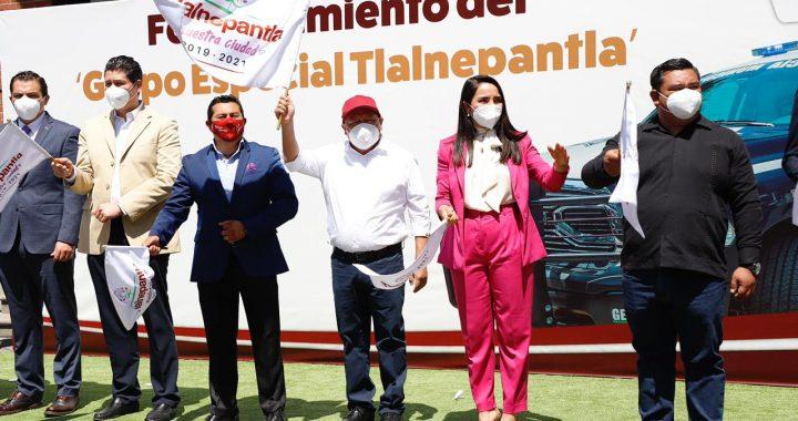 Tlalnepantla refuerza seguridad con nuevas unidades del FORTASEG
