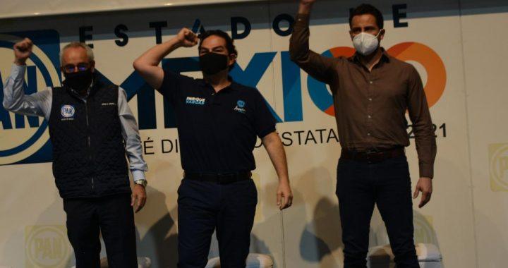 Convoca Jorge Inzunza a candidatos del PAN a ganar la calle y el voto