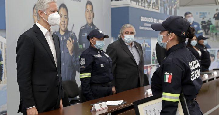 PERMITE LA CAPACITACIÓN Y PROFESIONALIZACIÓN DE CUERPOS POLICIACOS FORTALECER A LAS INSTITUCIONES DE SEGURIDAD