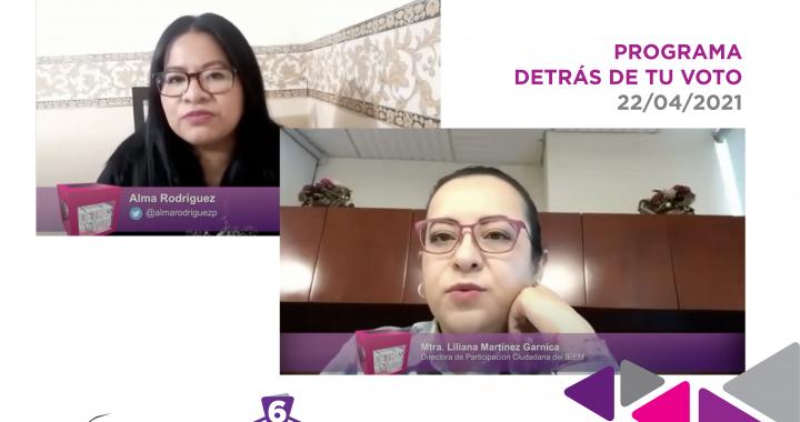 INCENTIVA IEEM INVOLUCRAMIENTO DE MEXIQUENSES EN EL PROCESO ELECTORAL 2021