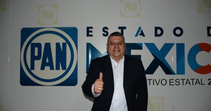 El PAN con candidatos que dan resultados y buenos gobiernos; se registra Eric Ruiz en San Martín de las Pirámides y Adrián Sánchez García en Nicolás Romero