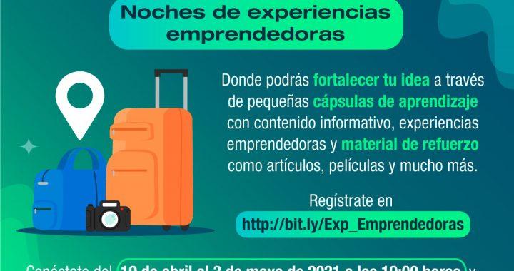 INVITAN A NOCHES DE EXPERIENCIAS EMPRENDEDORAS PARA FORTALECER AL SECTOR TURISMO