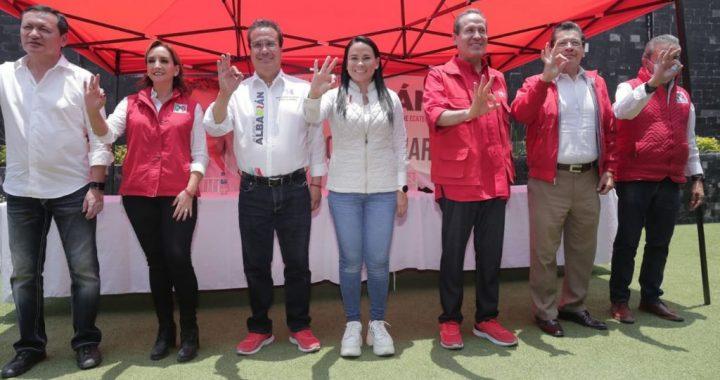 AMV ADVIERTE A MORENA: HAY MUCHO PRI PARA GANARLE EN TODO EL ESTADO DE MÉXICO
