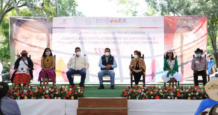 CONMEMORAN 27 ANIVERSARIO DEL CONSEJO ESTATAL PARA EL DESARROLLO INTEGRAL DE LOS PUEBLOS INDÍGENAS DEL EDOMÉX
